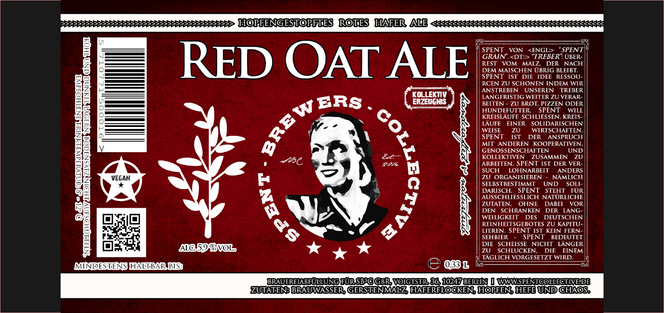 red oat ale